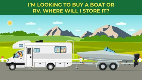 Where should I store my RV or boat?