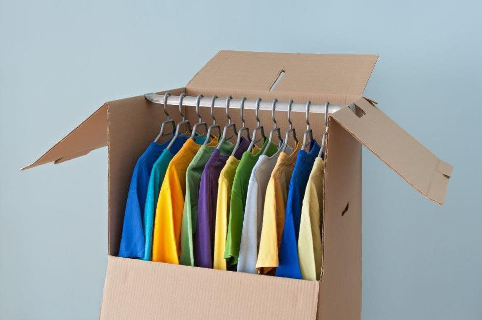 Specialty wardrobe box